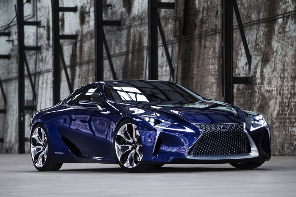 Lexus LFLC Blue Concept Car Auto da sogno, Auto, Automobile