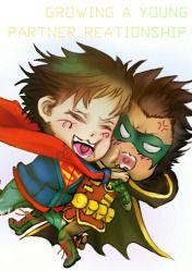 My First Fanfic SuperBat Damian x Jonathan Supersons