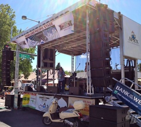 For Sale - APEX 2420 MOBILE STAGE 3 SEASONS OLD!!! - Listing