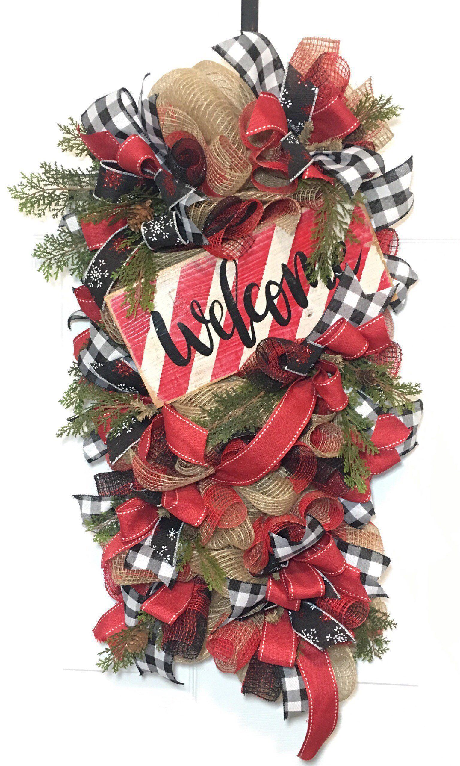 52 Cozy Plaid Decor Ideas To Wel e Christmas