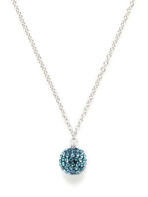 d73beb785 Swarovski Jewelry Bright Blue Indicolite Crystal Pop Pendant Necklace
