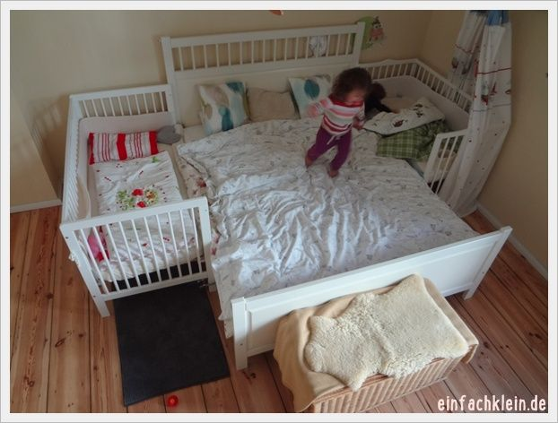AP Krabbelgruppe heute Familienbett sichern Durchschlafen und