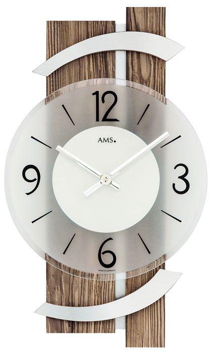 AMS 9545 Wanduhr Wanduhren, Wanduhren modern und Moderne