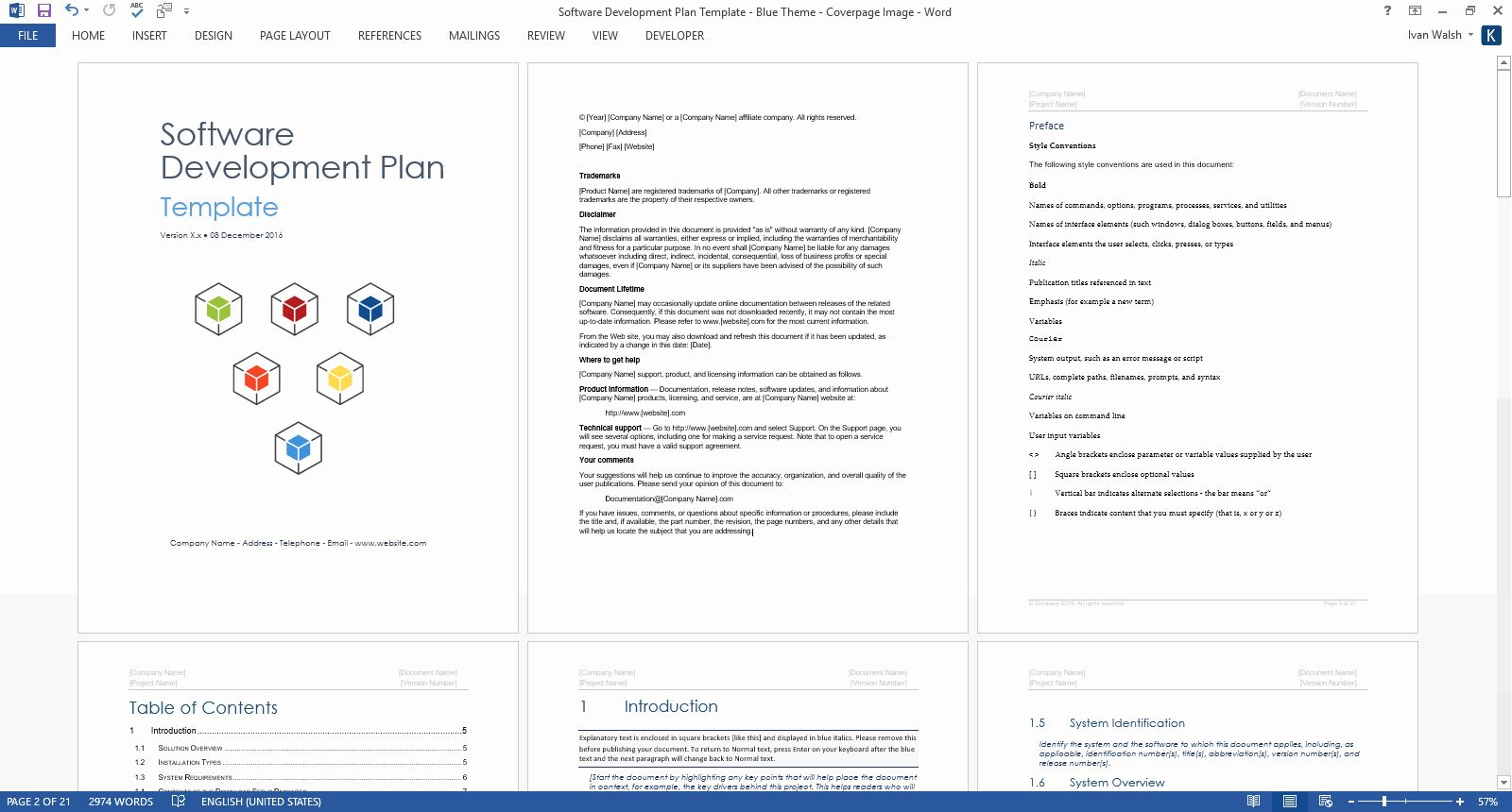 Design And Development Plan Template Best Of Software Development Lifecycle Templates Ms Word Project Proposal Template Proposal Templates Software Projects