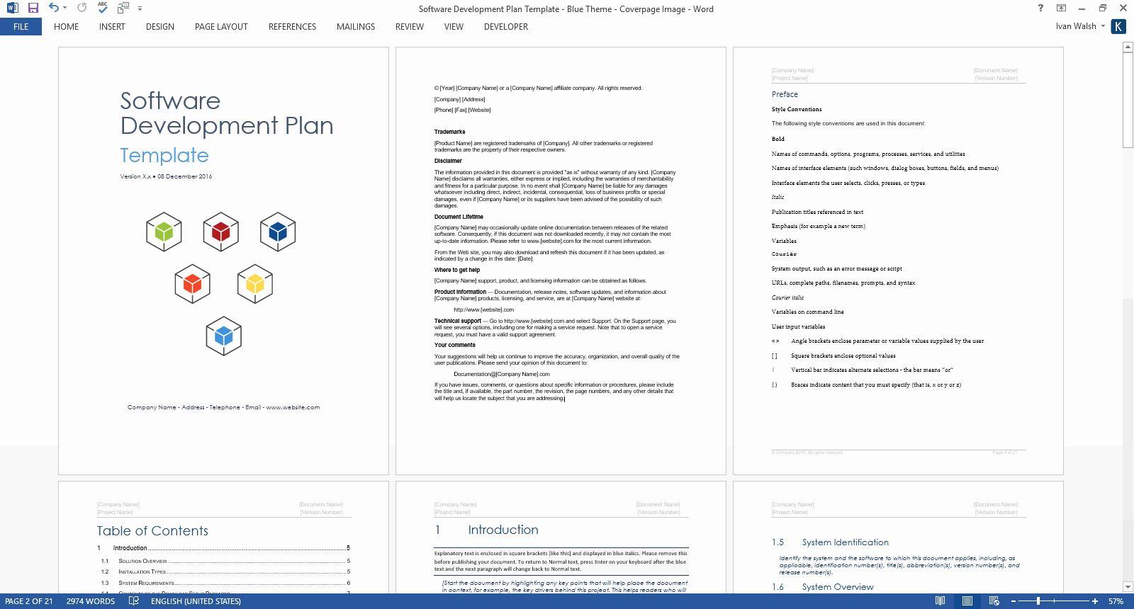 Design And Development Plan Template Best Of Software Development