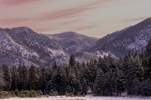 Winter time in Southern Utah- Pine Valley after the ...