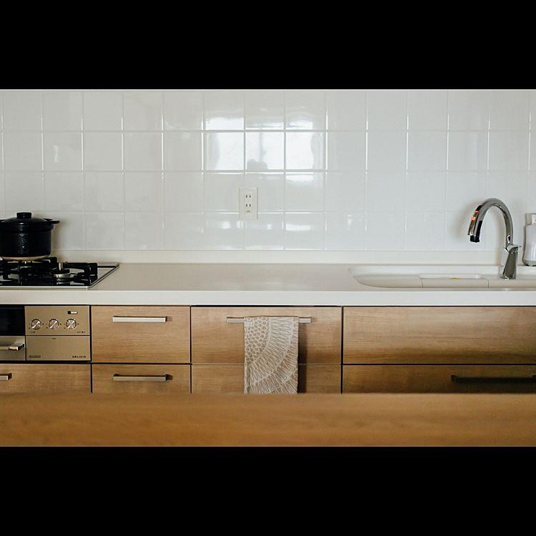 リクシル Lixil アレスタ メープル 壁付けキッチン などのインテリア実例 2017 01 03 23 25 50 Roomclip ルームクリップ Lixil アレスタ アレスタ 壁付けキッチン