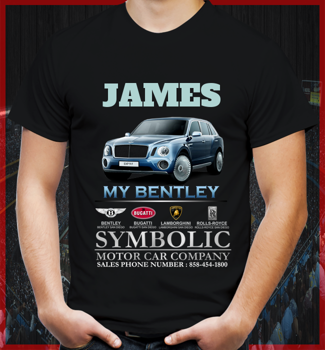 Your Symbolic Motor Car Company Personalized Tee Not Sold In Store