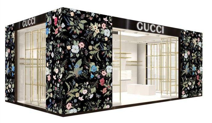 af2bcf9d6fc Gucci x Kris Knight pop-up ifc mall