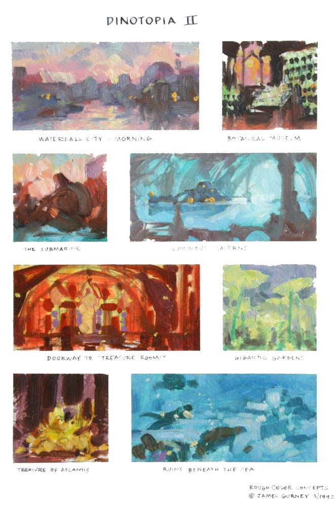 Colorscript  Color Scripts  Storyboards    Storyboard