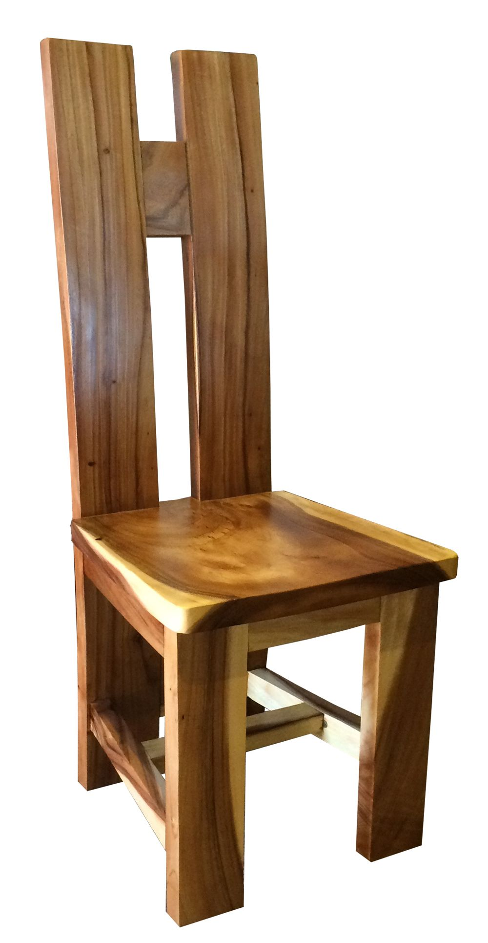 Suar Orinoco Live Edge Dining Chair Wooden Dining Chairs Farmhouse Chairs Wood Chair Design