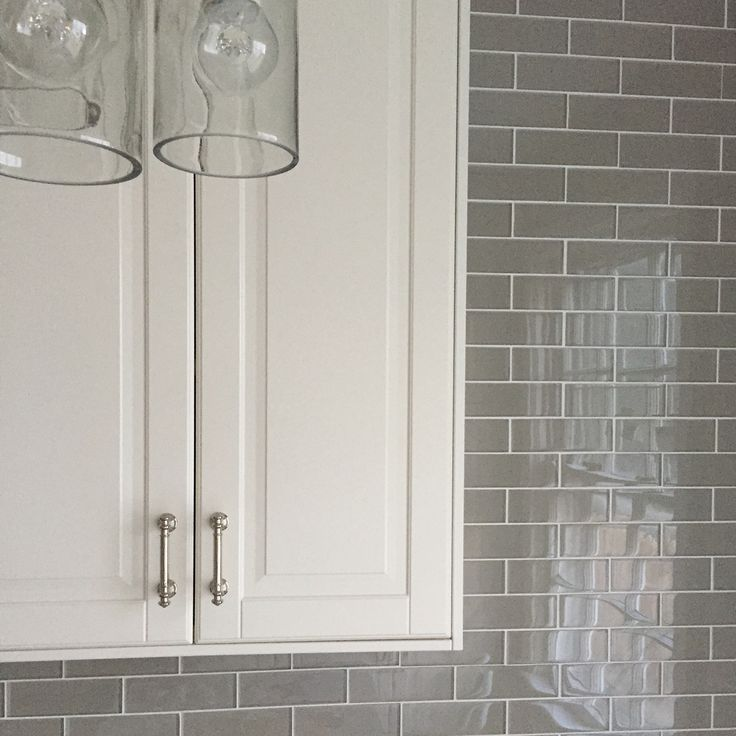 Ikea Kitchen Bodbyn Grey: Teaser. Off White IKEA Bodbyn. Glass Tiles 2×6 In Rain