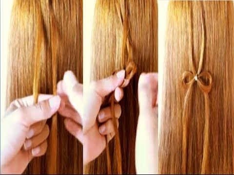 Hairstyle for Long Hair Butterfly Braid