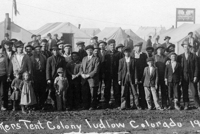 Αποτέλεσμα εικόνας για massacro di Ludlow