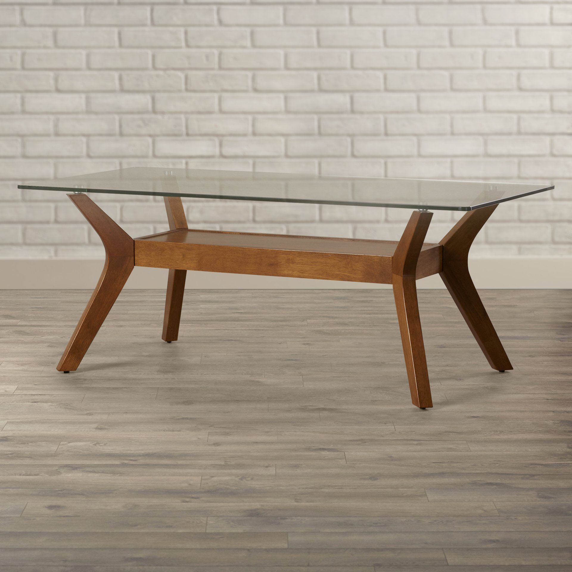 Elegant Emerald Chandler Reclaimed Wood Cocktail Table