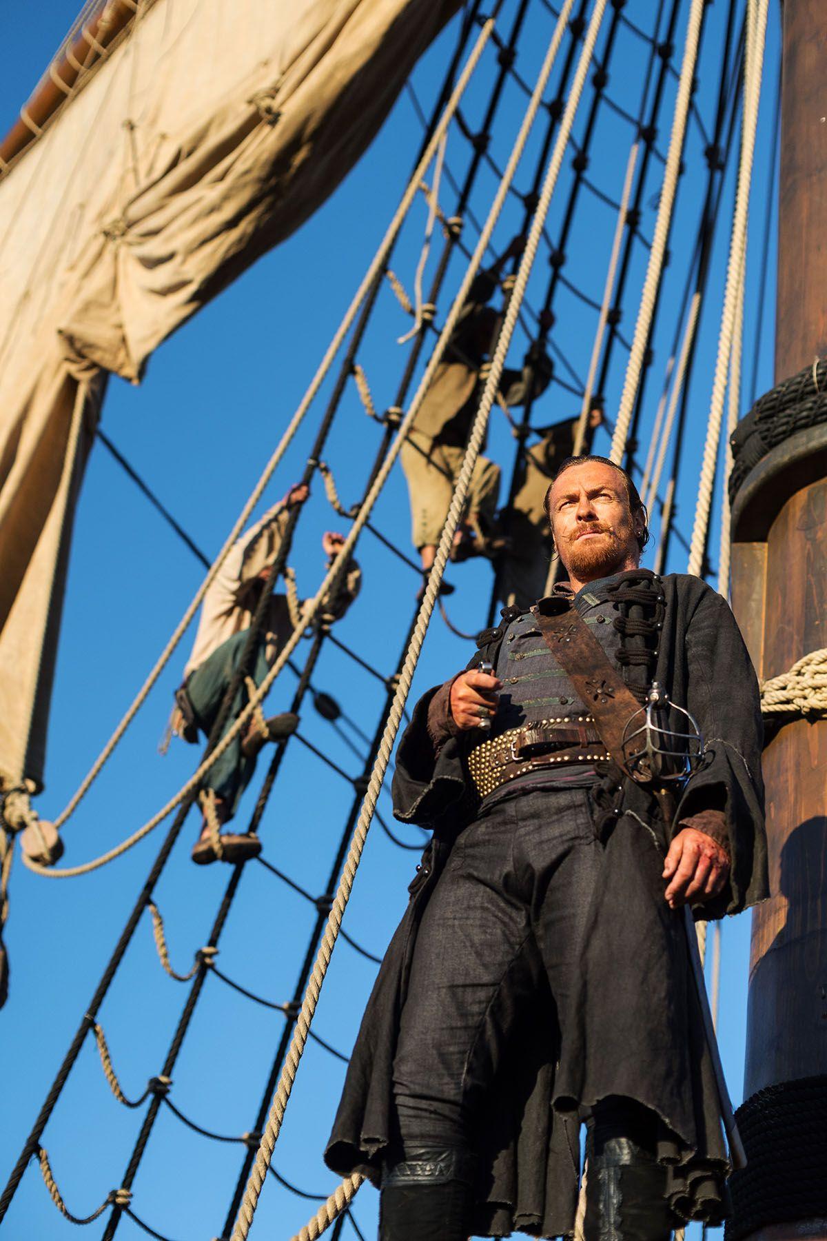 Captain Flint Black Sails Ready the Ships Pinterest