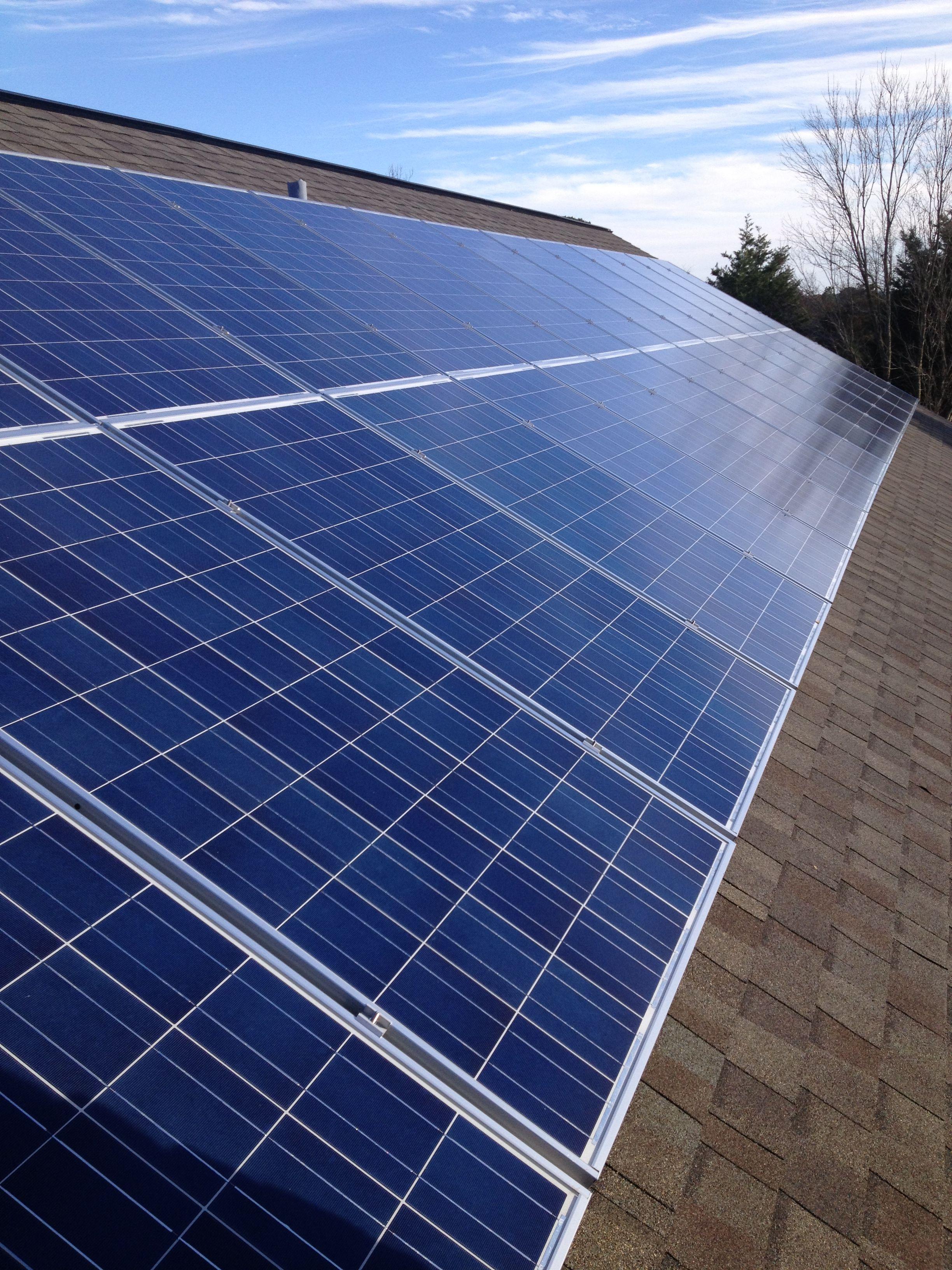 recent solar install solar energy pinterest solar energy