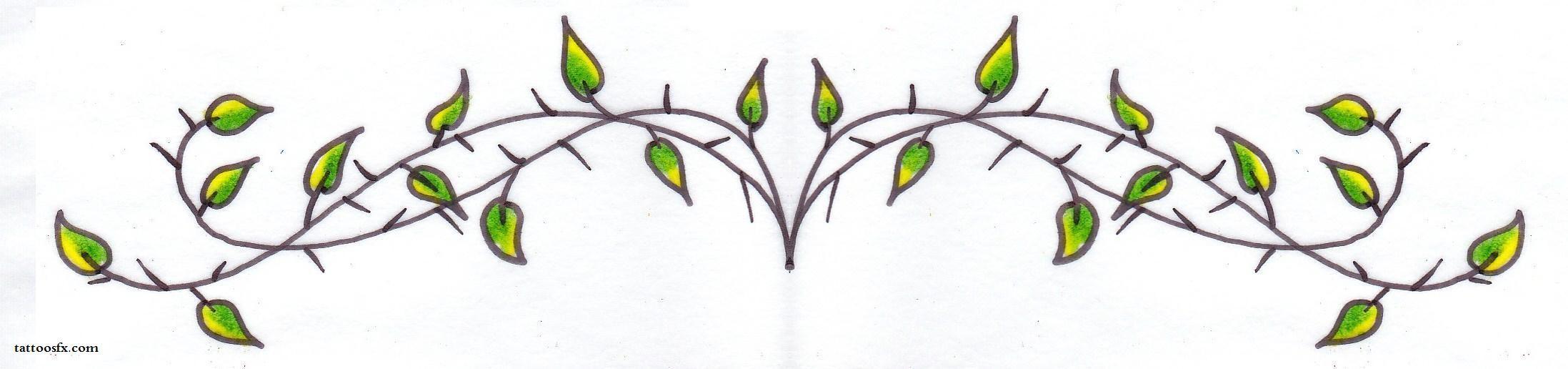 ivy vine tattoo design drawings leaf tattoo design leave tattoo design lower back tattoo. Black Bedroom Furniture Sets. Home Design Ideas