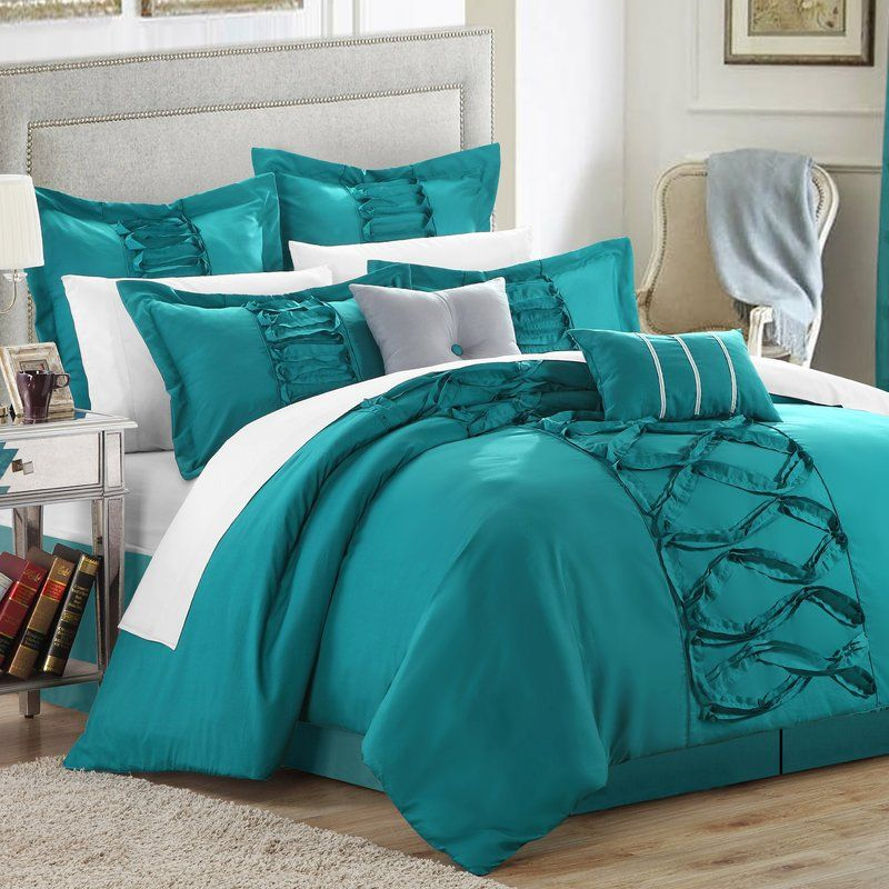 caterina comforter set  comforter sets turquoise bedding