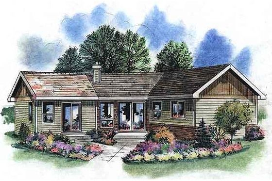 house plan 18 1050 great curb appeal and l shaped plan is cool and