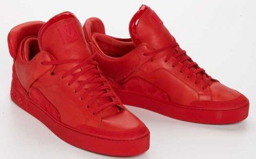 Kanye West Louis Vuitton Sneakers Louis Vuitton Shoes Sneakers Louis Vuitton Sneakers Red Sneakers