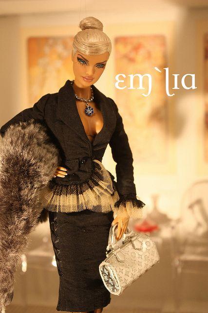 Countess Perrin - OOAK Veronique by em`lia, via Flickr