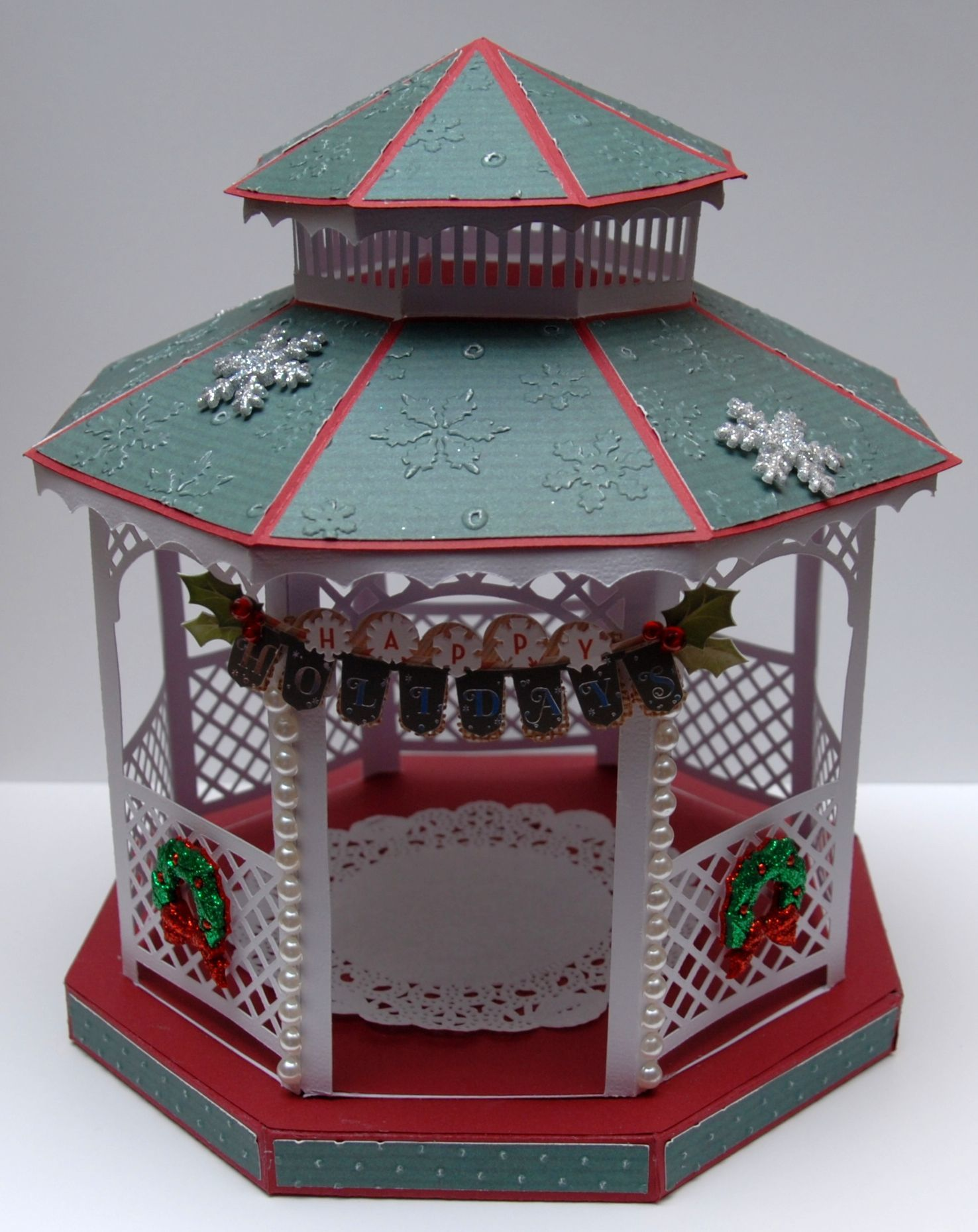 My 3d Room Design: My Gazebo Created From Monica's Creative Room SVG File And
