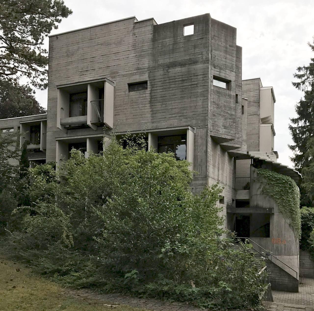 Atelier 5 Brunnadernstrasse Houses Bern Switzerland 1970 1972