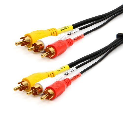 RiteAV 100ft RCA Stereo Audio Cable