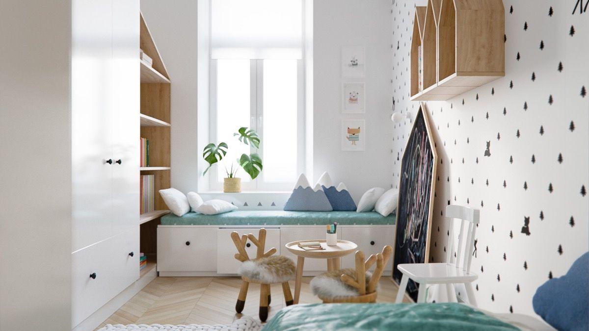 Stijlvolle-slaapkamer-kinderen-8b - Appartement   Pinterest ...