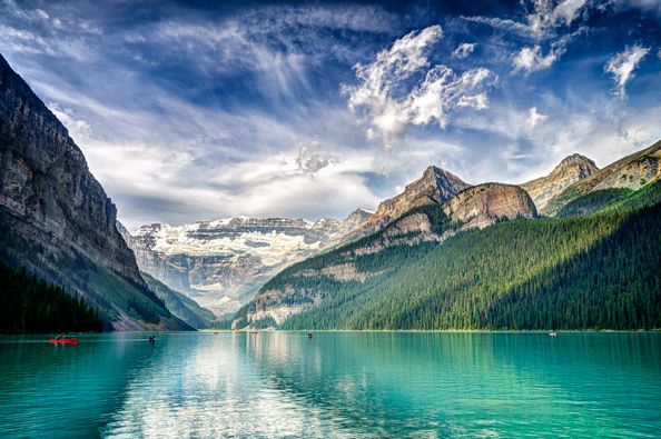 Lake Louise, Alberta, Canada. Source: Steve Steinmetz.