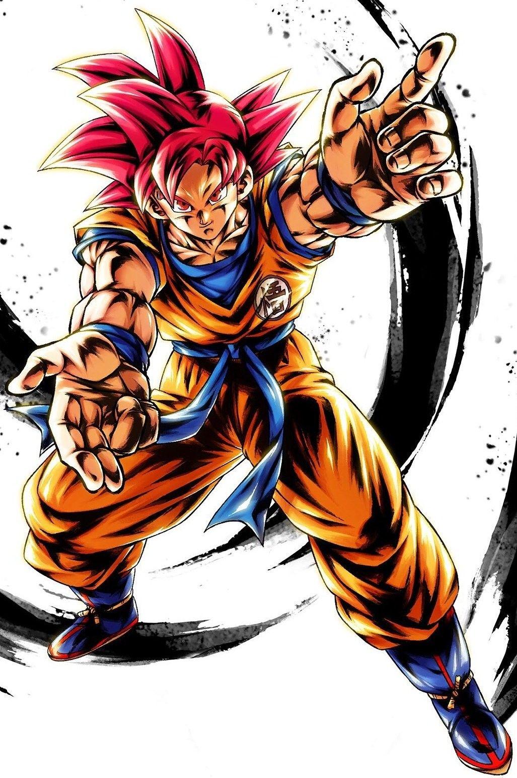 Goku Super Saiyan God Dragon Ball Legends Dragon Ball Super Manga Dragon Ball Super Artwork Dragon Ball Super