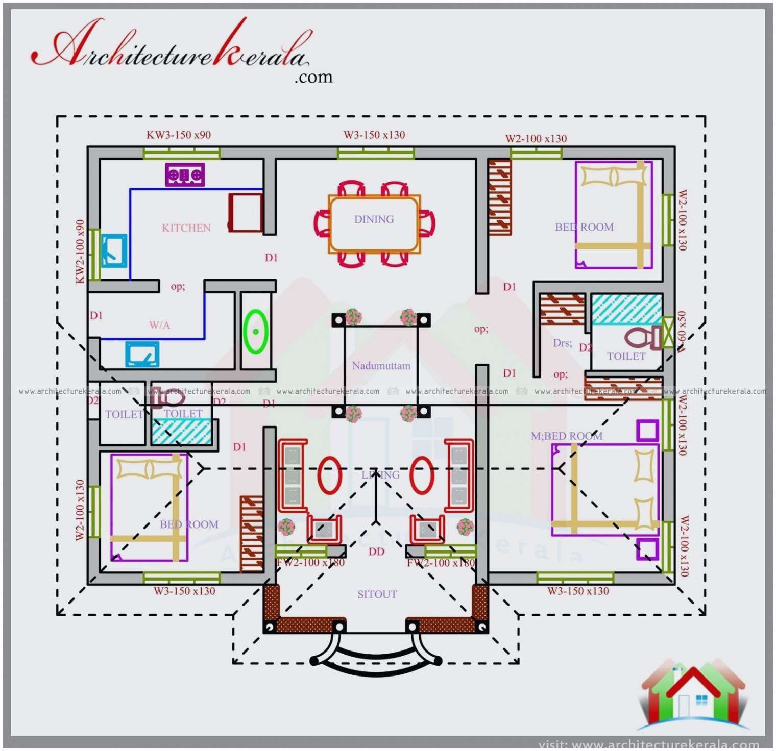 Small House Layout 22 Luxury House Design Plan In Bangladesh Yeppe House Plans 3 Bedroom House Design Pictures Bedroom House Plans