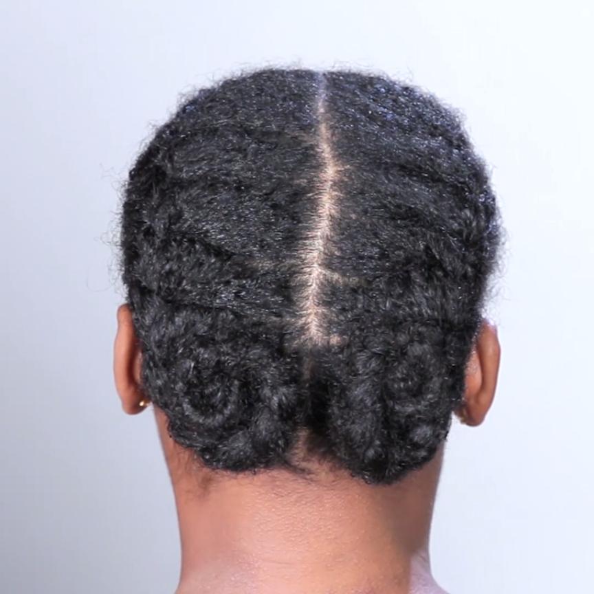 Double French Braids For Natural Hair Video Natural Hair Styles Curly Hair Styles Naturally Natural Hair Braids