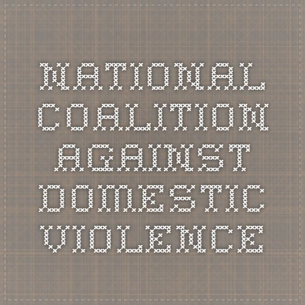 Safety Plan  National Coalition Against Domestic Violence