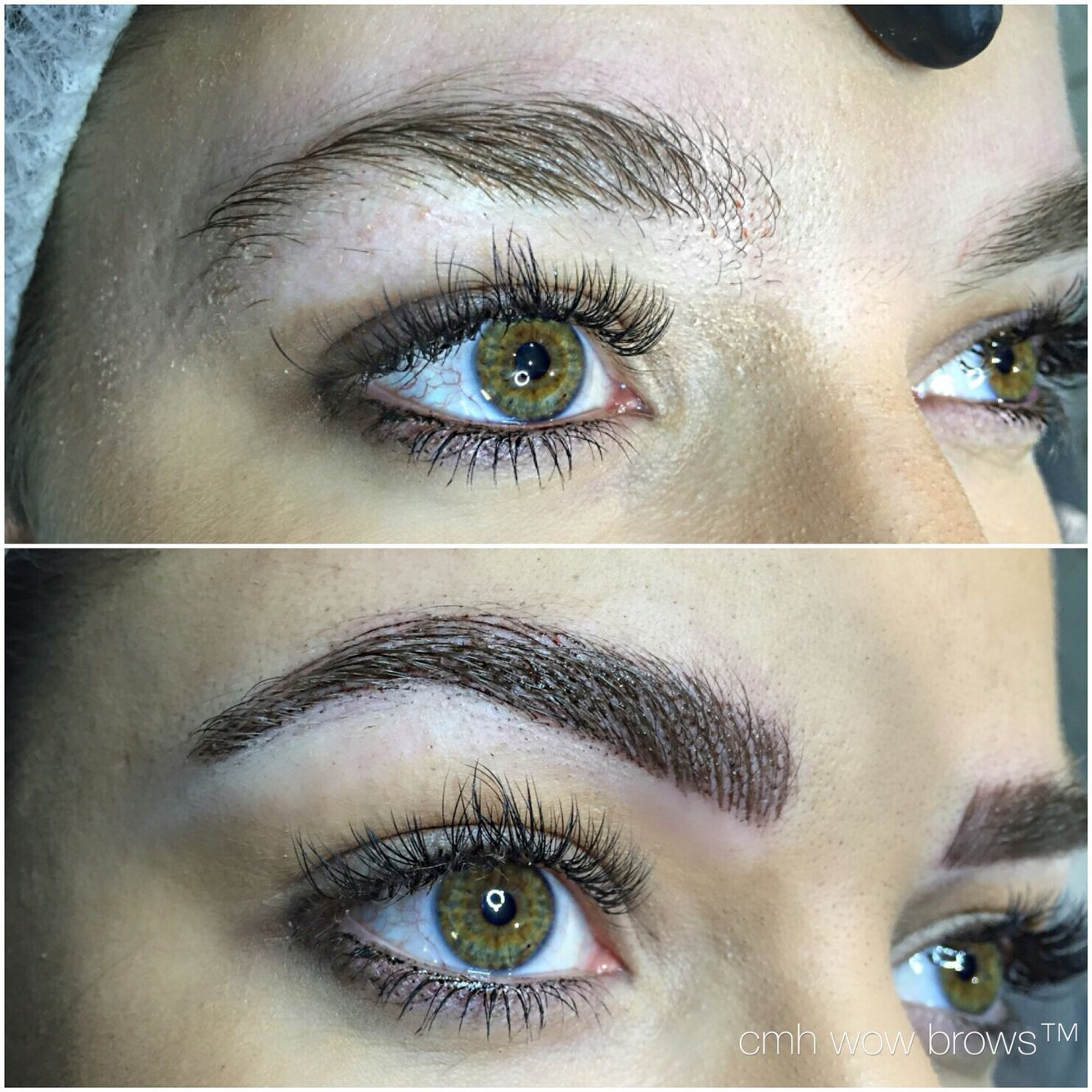 Natural Eyebrow Tattooing Hair stroke / Feather Touch ...