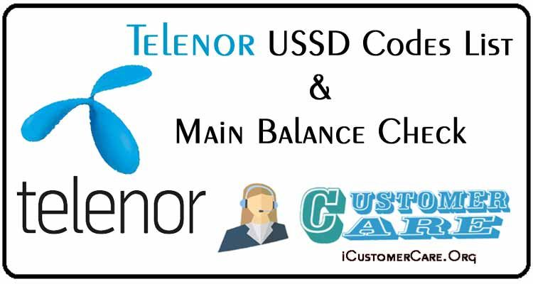 Telenor Ussd Codes List 3g 4g Net Sms Night Pack Main Balance Customer Care Coding Sms 4g Internet