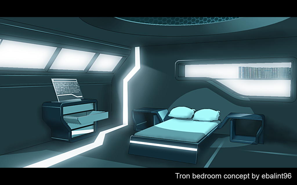 Gallery For Gt Sci Fi Bedroom With Images Futuristic
