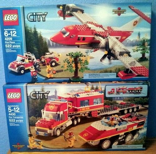LEGO CITY 4209 Fire Plane NEW