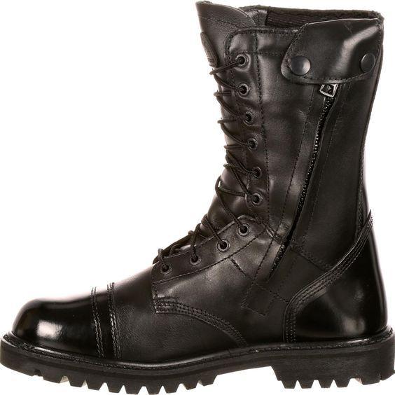 Mens Boots Zipper