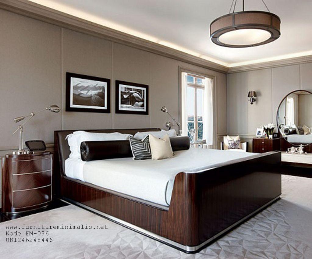 tempat tidur minimalis mewah model baru Jonathan