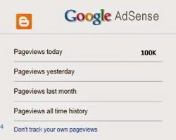 How many bloggers pageviews stat count you will need to average $10 daily with Adsense ads impressions only, without any click - High Technologies