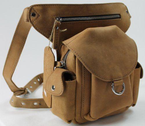 Vagabond Traveler - TOURISTA - High-Fashion Leather Fanny Pack L86