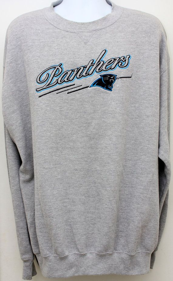 11f2b2eb 90's Vintage CAROLINA PANTHERS Sweatshirt by StandoutVintageStore, $38.00