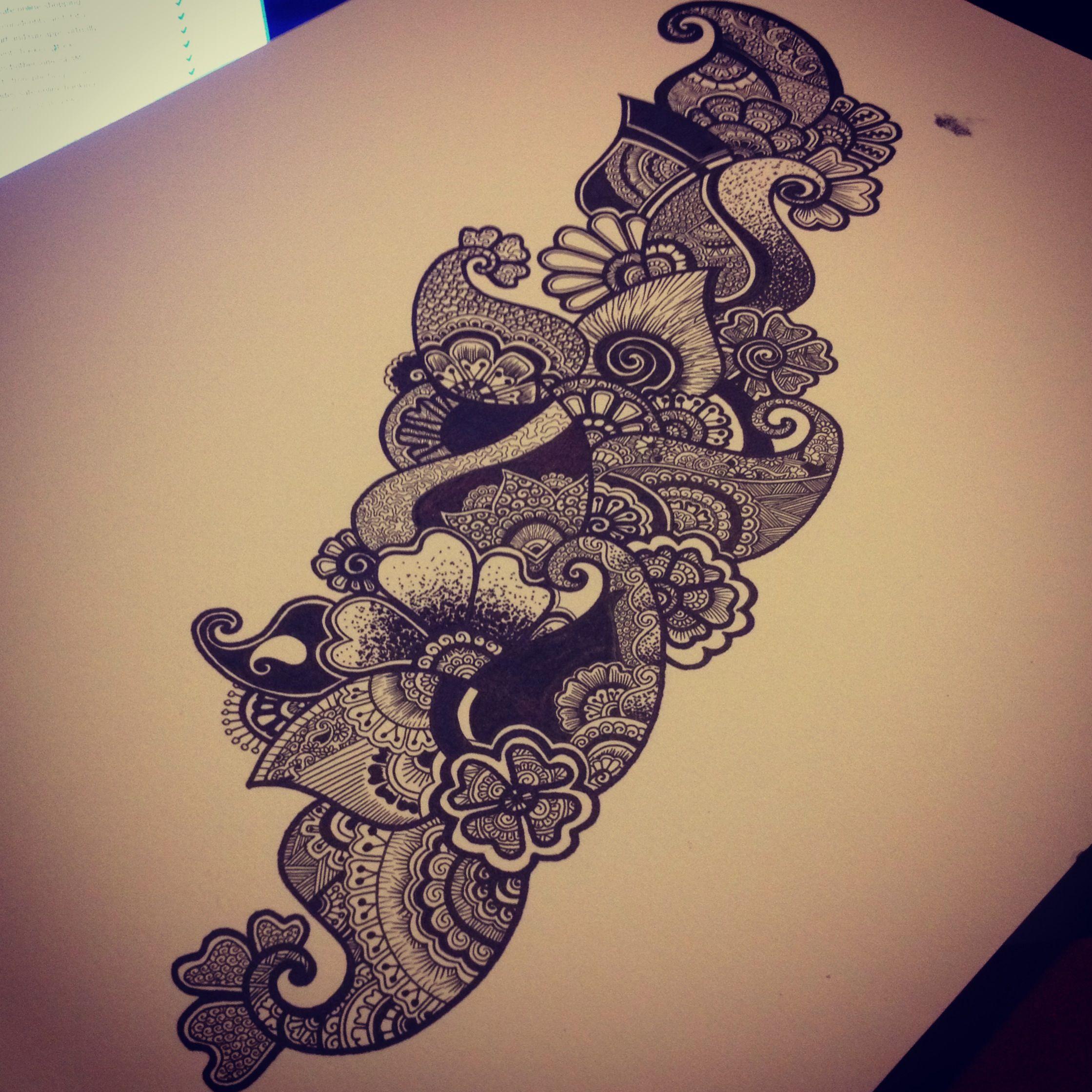 Paisley design Sleeve ideas Pinterest