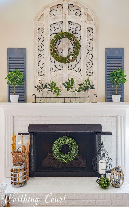 Unique Fireplace Mantel Decorating Ideas Pictures