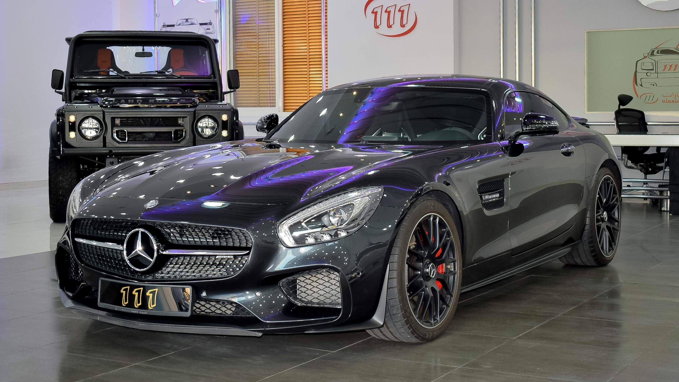 Model Mercedes Benz AMG GT S Gulf Specs Year 2016 Km 21 000 Price د إ UAE AED 410 000