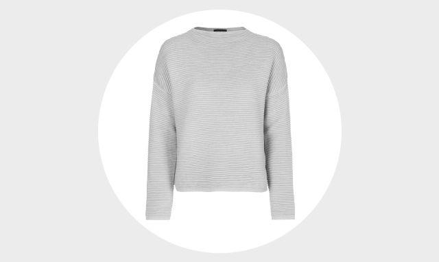 Topshop Ribbed Sweatshirt, £36