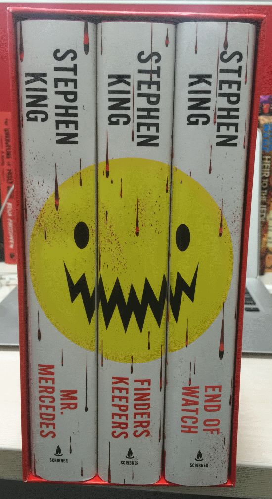 Bill Hodges Trilogy Boxed Set Stephen King Books Stephen King Book Worms