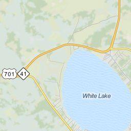 Map of White Lake NC